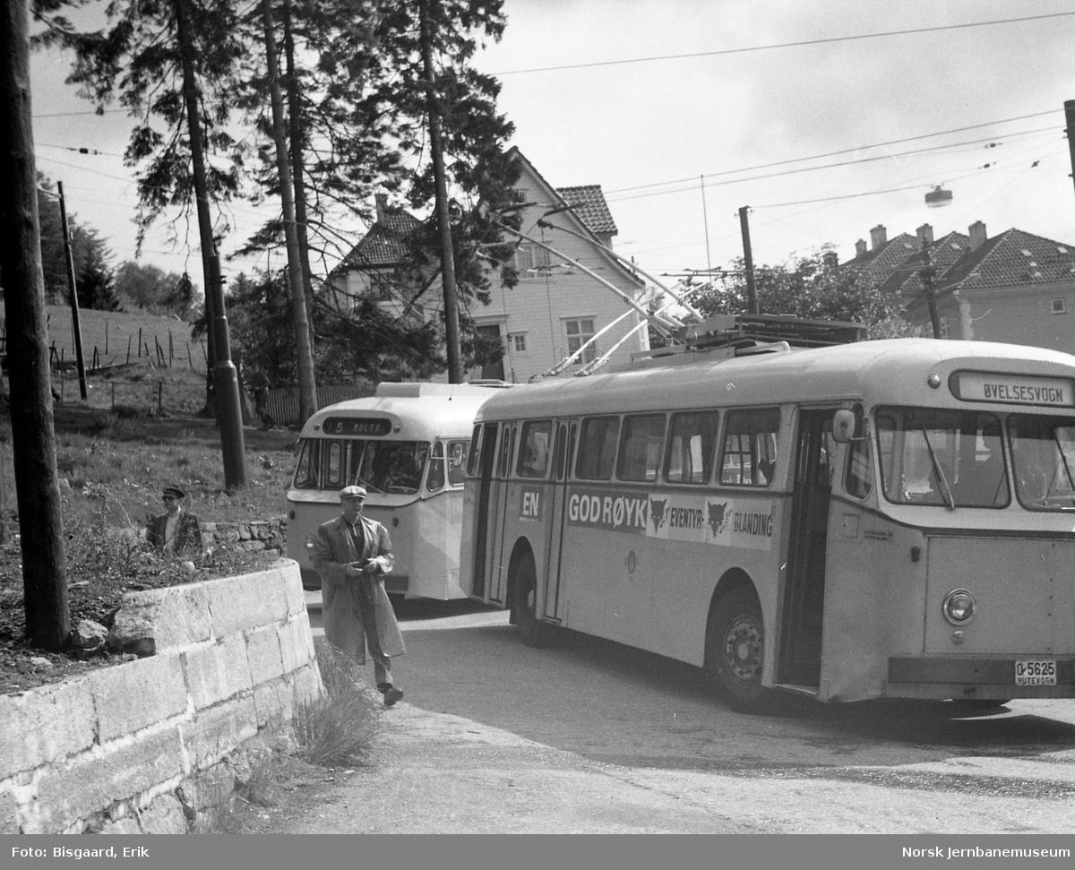Trolleybusser i Bergen - utfluktstur for NJK