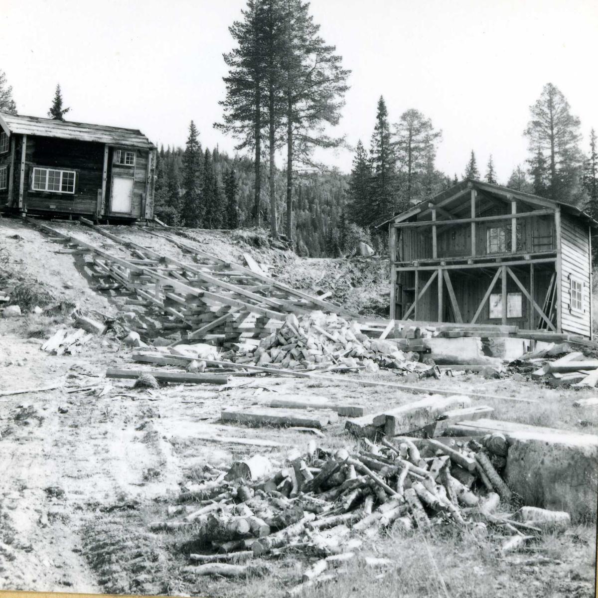 Inntak og dam. Våmar vatn + Kåsvatn  (40)