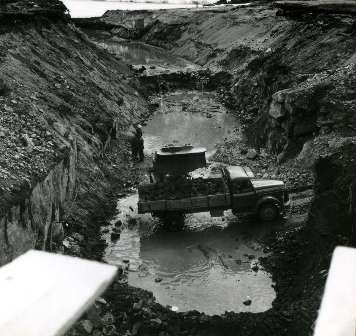 Kraftområdet. Fellesanlegg. (28) April 63