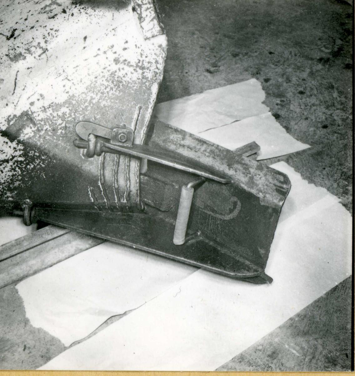 Dalen 89, maskiner og deler