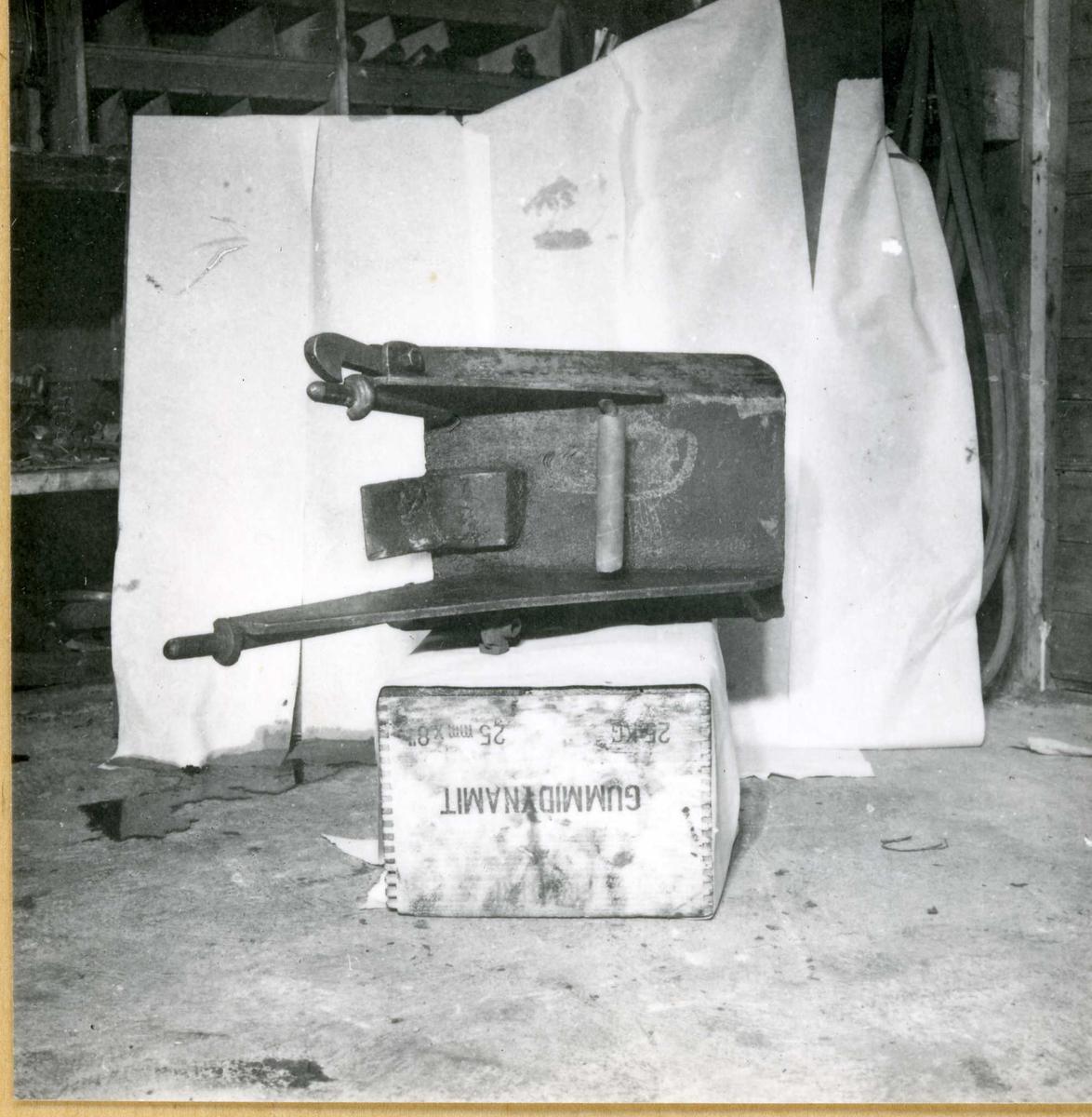 Dalen 91, maskiner og deler