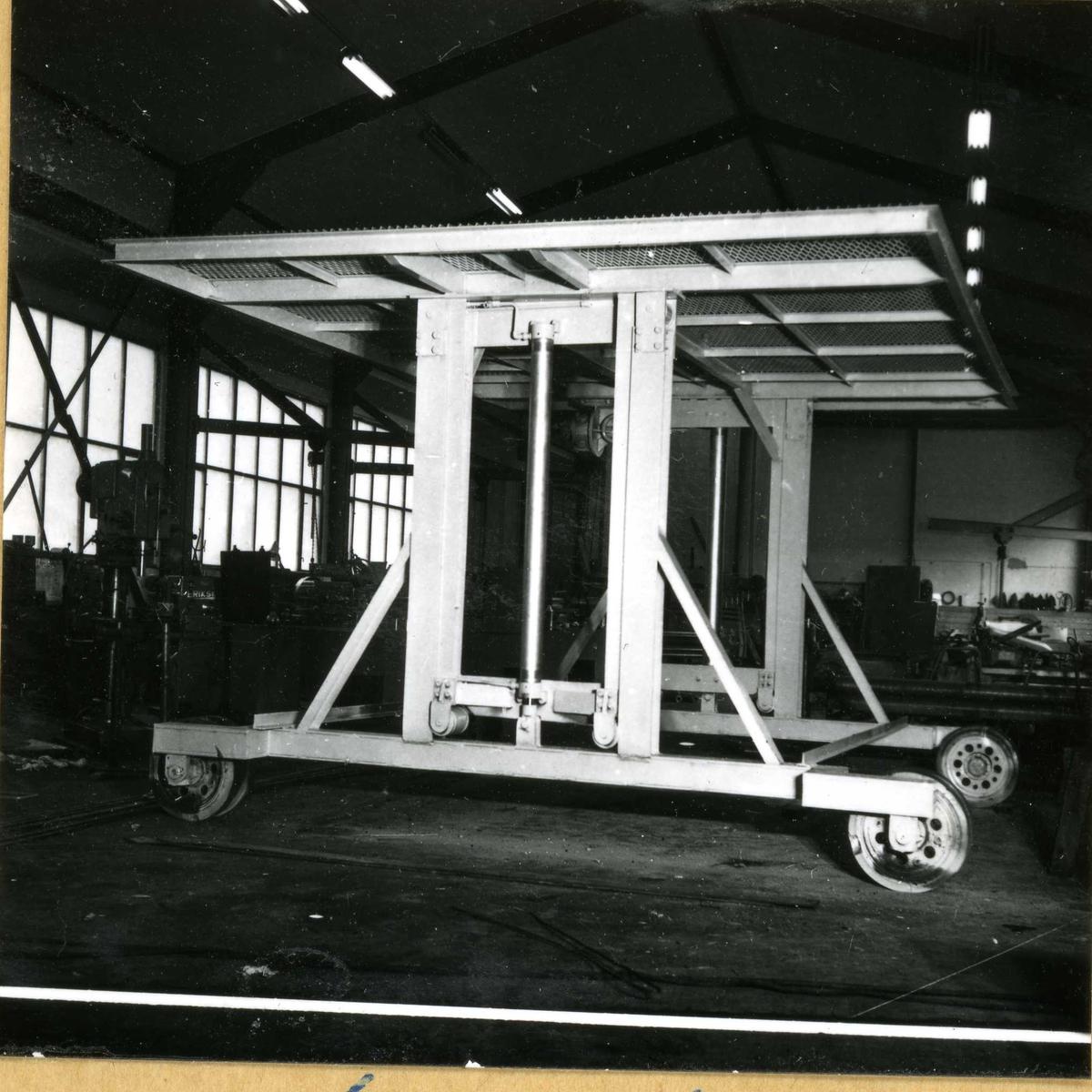 Dalen-lageret 15, maskiner