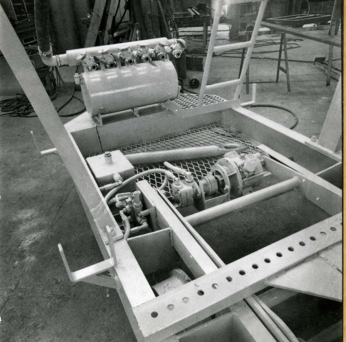 Dalen-lageret 17, maskiner