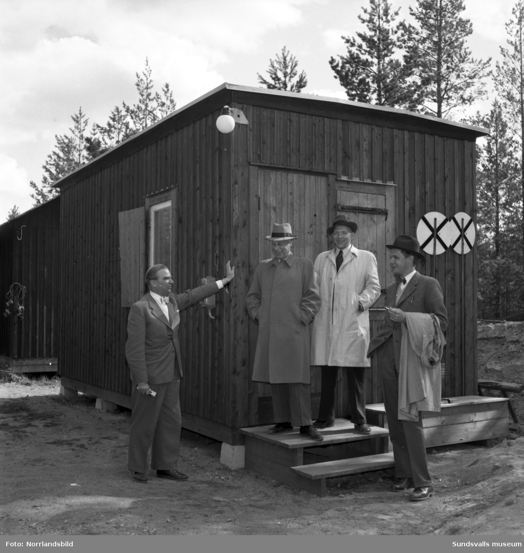 SJ-invigning i Ånge.