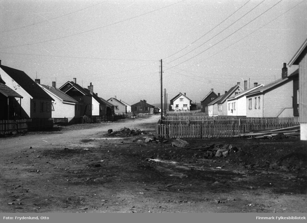 Gjenreisningshus i Idrettsveien i Vadsø