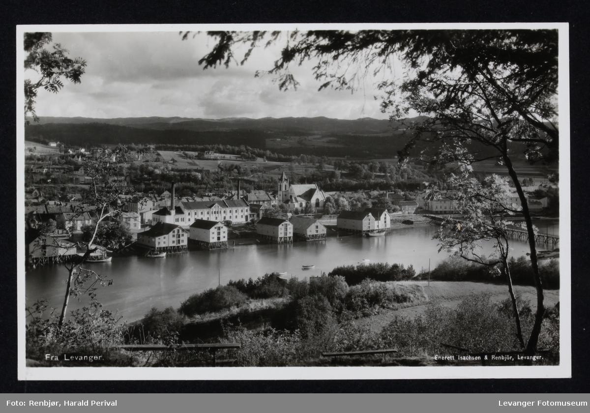 Utsikt over Levanger.