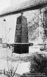 Hans Nielsen Hauges grav, gamle Akers kirkegaard, Kristiania