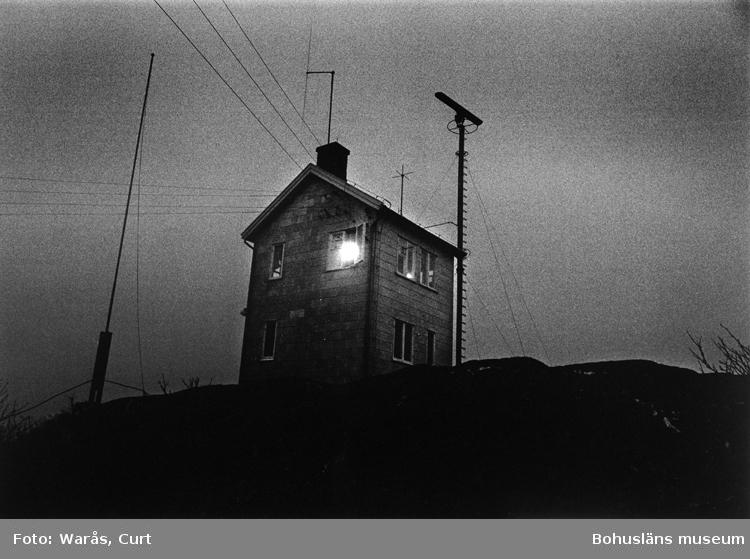 Lotsutkiken på Nordkoster i Bohuslän i början av 1970-talet