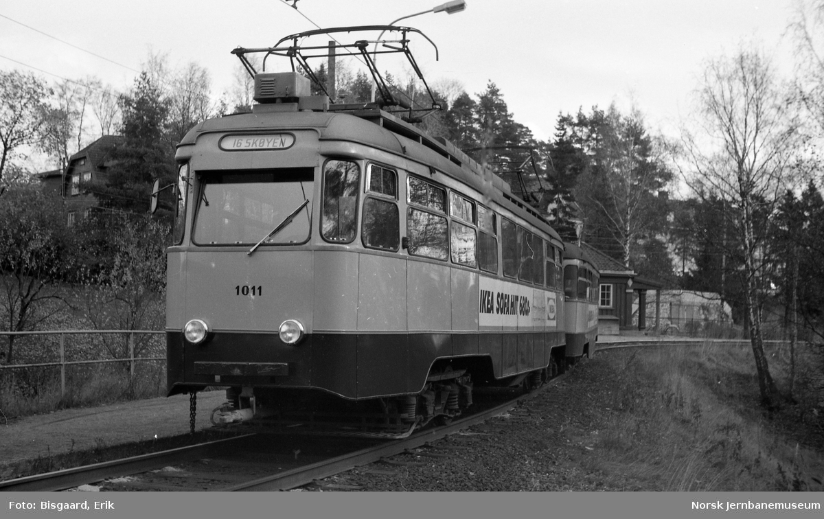 Ekebergbanens motorvogn nr. 1011