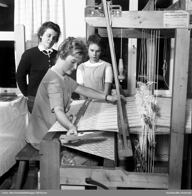 Yrkesskolan i Sundsvall, bilder från de olika verksamheterna  för årsberättelsen.
