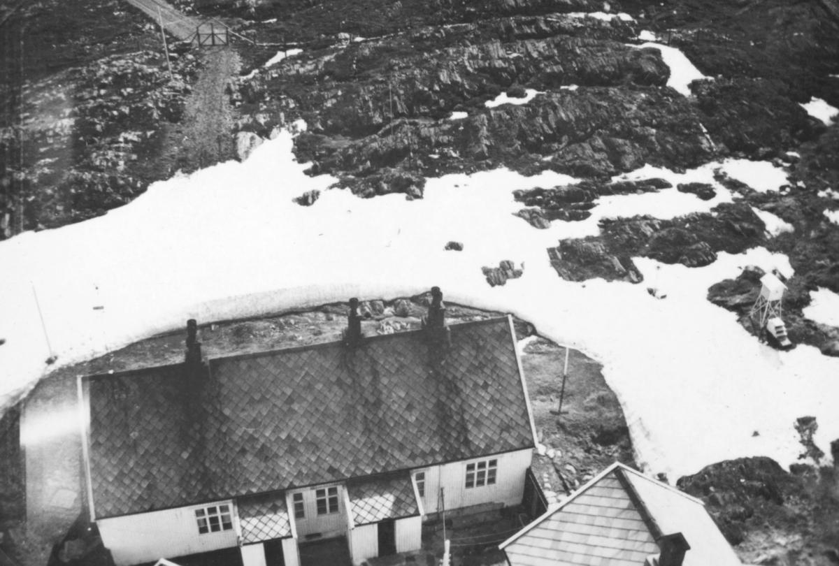 Utsikt fra Slettnes fyrtårn