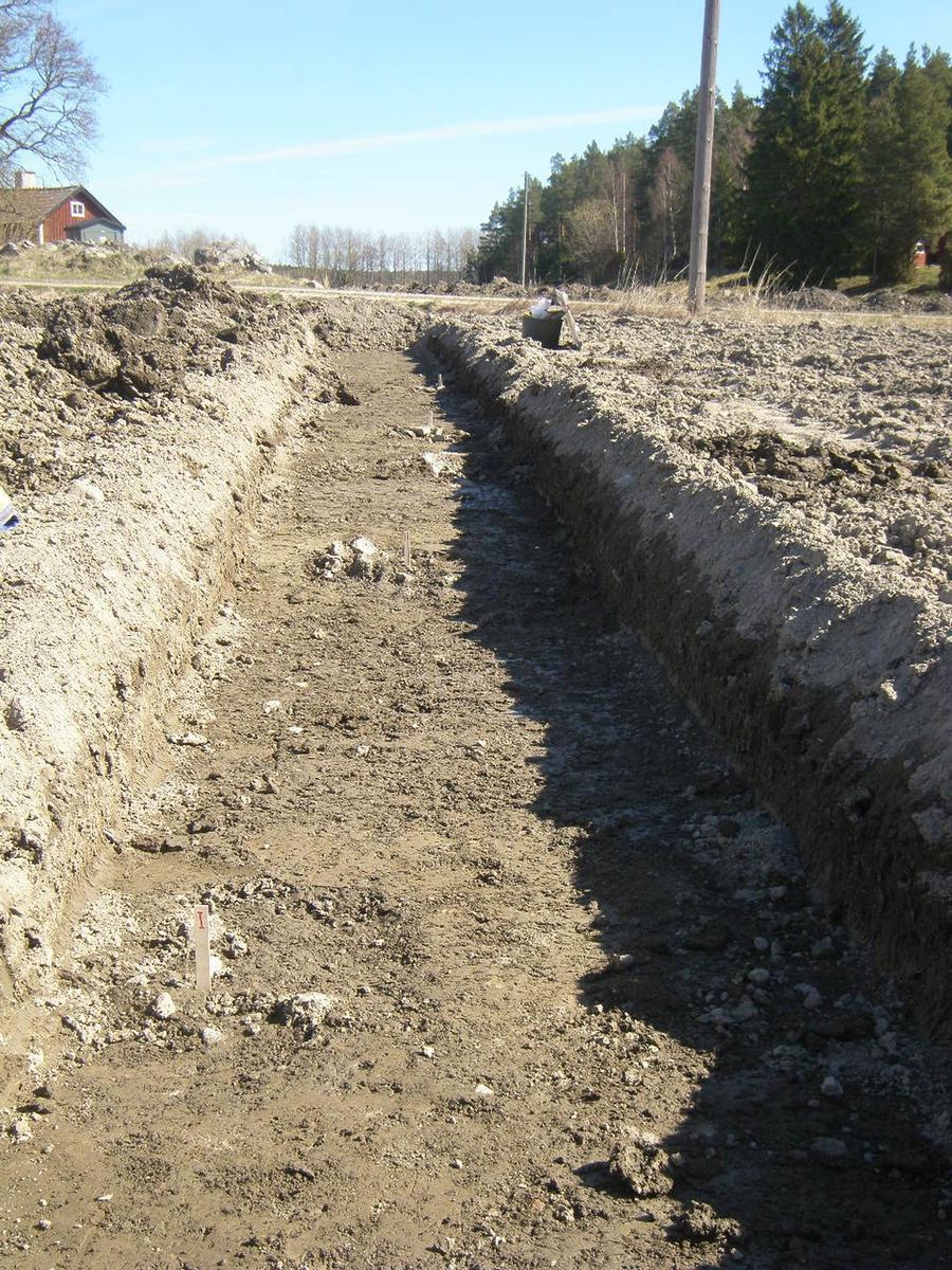 Arkeologisk förundersökning, område 2, Fransta, västra schaktet, Husby-Långhundra socken, Uppland 2014
