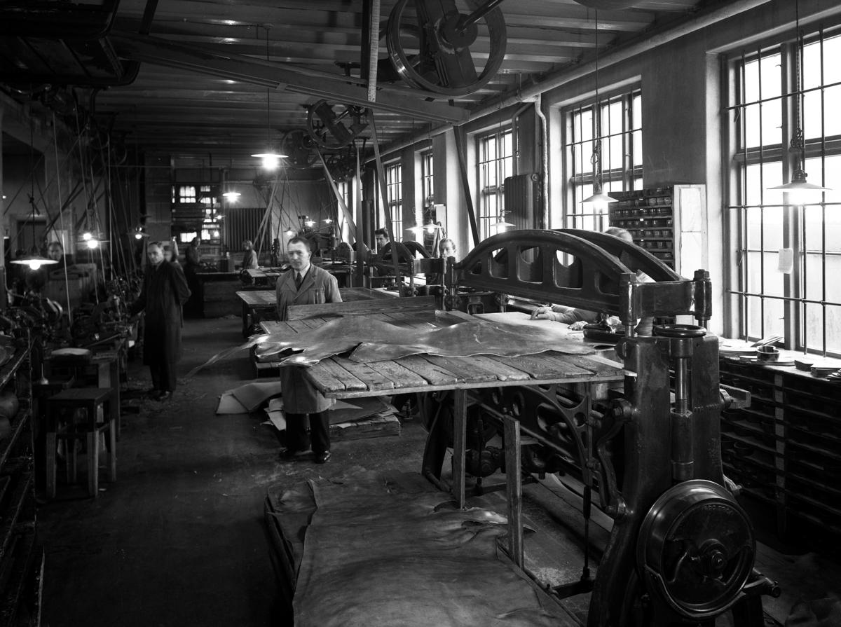 Dokumentasjonsfoto av A/S Skofabrikken Norge.