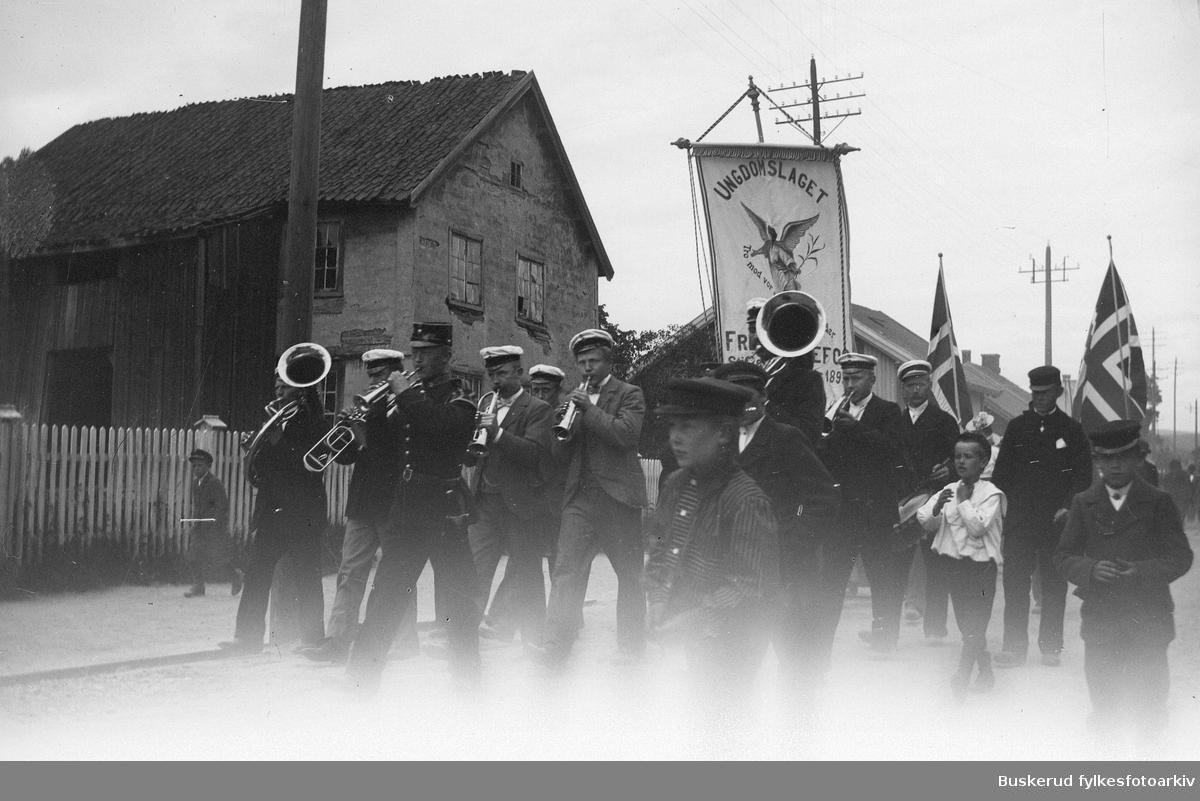 Fremad musikken var en del av Hønefoss totalavholdsforening