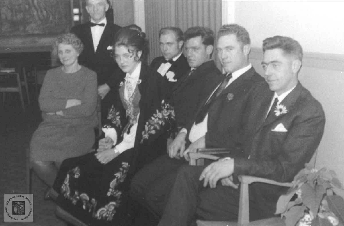 Familiegruppe Fam Olsen Skuland Historiske Foto Marnardal Og