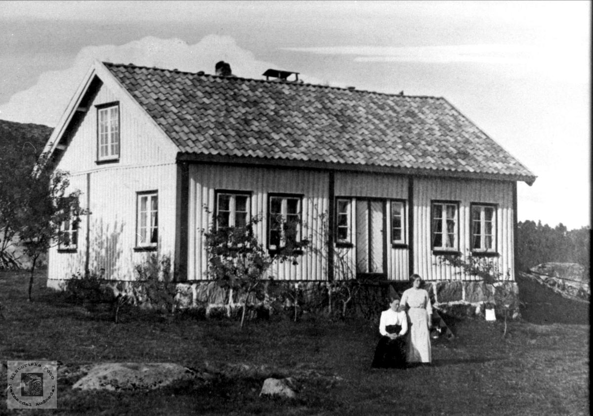 Det gamle Gardshuset på Vesthaugen,Lindland.