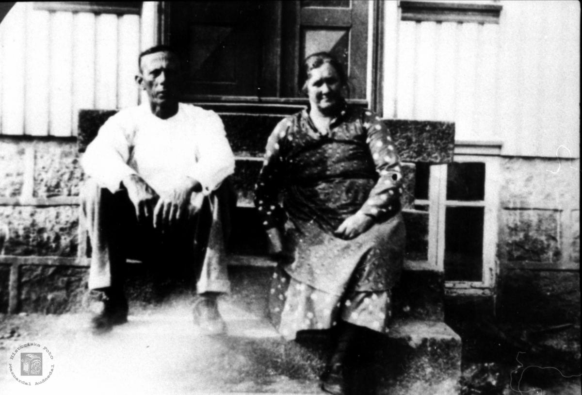 Ekteparer Halvor og Kristine Mobekk.