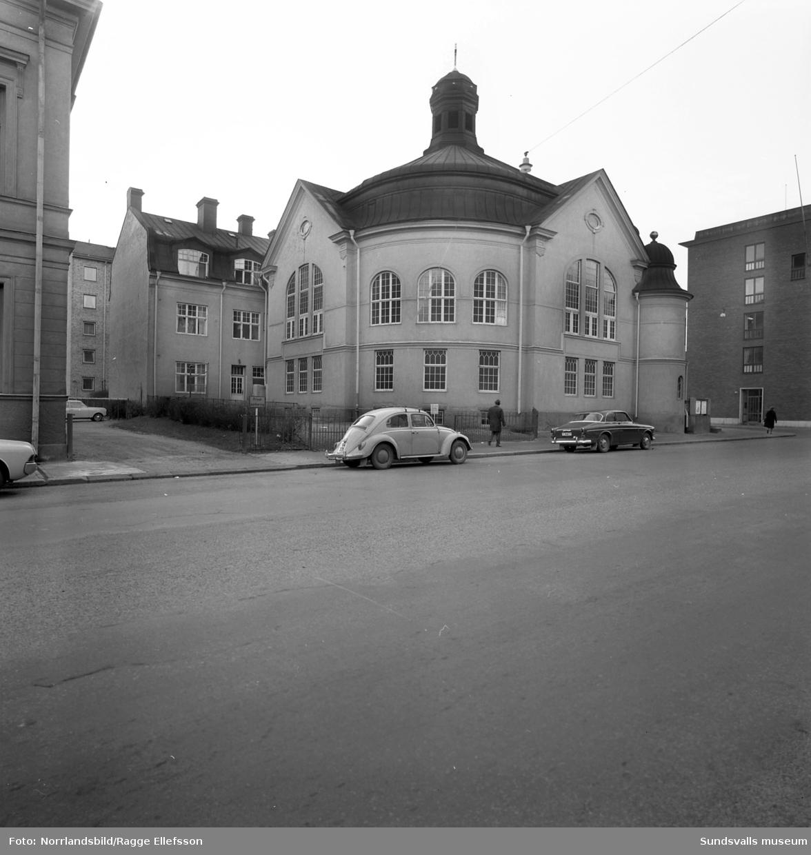 Betlehemskyrkan vid Köpmangatan. Exteriörbild.