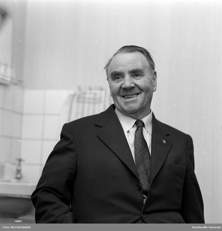 Missionär Bergman hemma från Rhodesia.