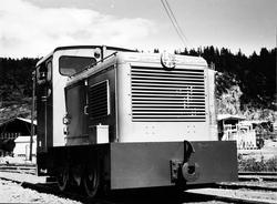 Levahn diesellokomotiv til Statens Havnevesen, Berlevåg, und