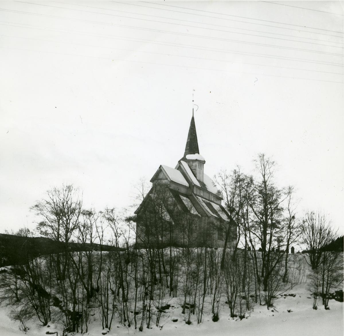 Høre stavkirke i Vang,Valdres.