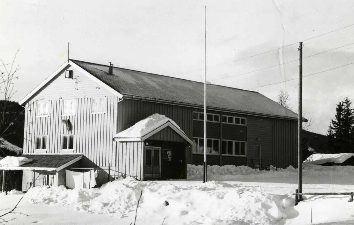 Solhaug samfunnshus i Øystre Slidre kommune i Valdres.