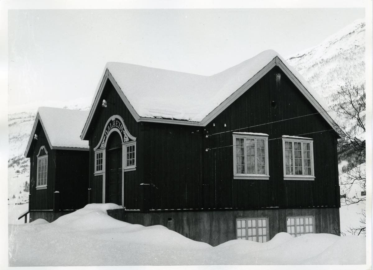Dalheim forsamlingshus i Øye i Vang kommune i Valdres.