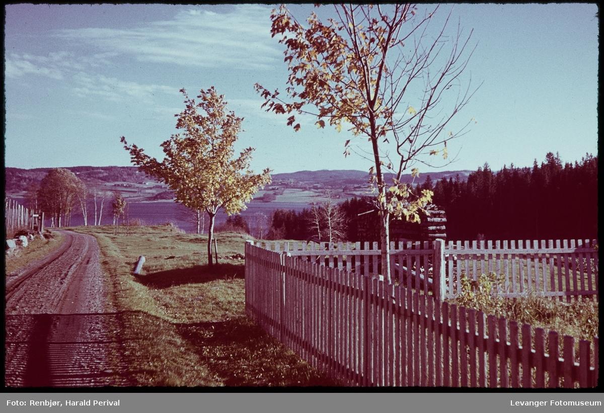 Utsikt  fra Nesset ved Kjønstad.