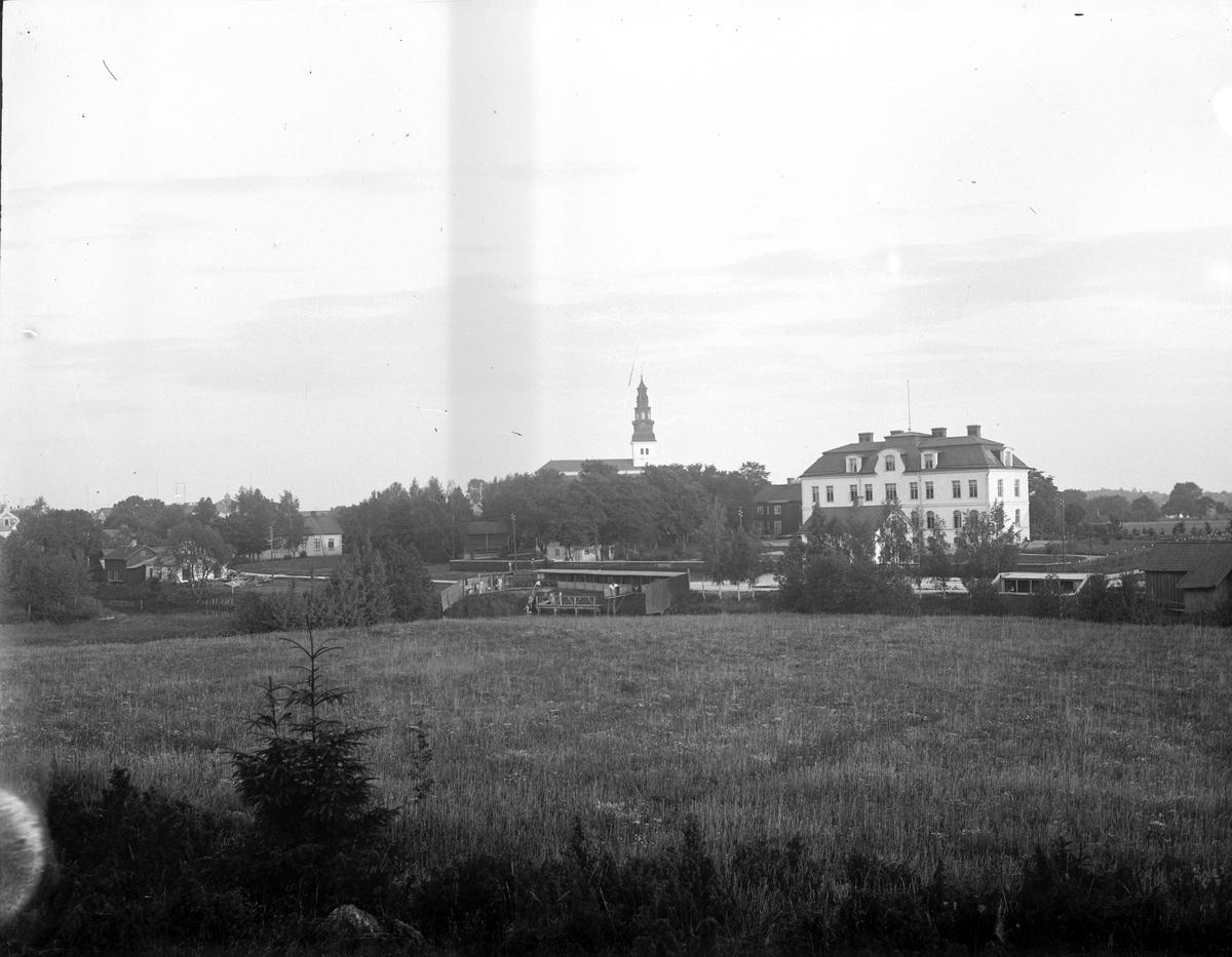 Köpings ålderdomshem. Fotograf: Ellert Johan Viktor Sörman Fotokopia finns.