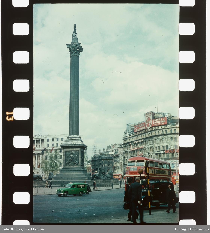 Fra Trafalgar Square,
