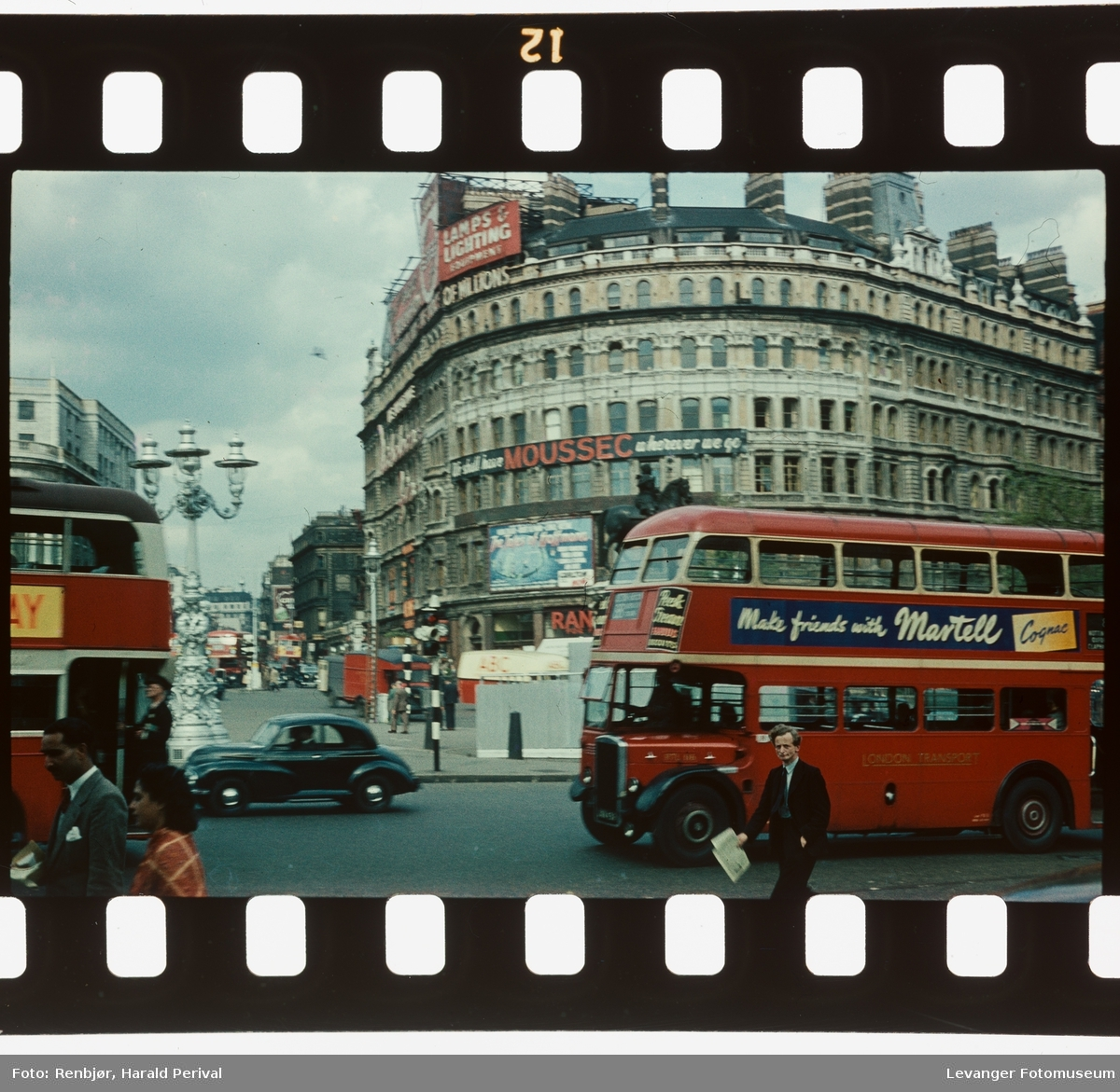 Fra Trafalgar Square.