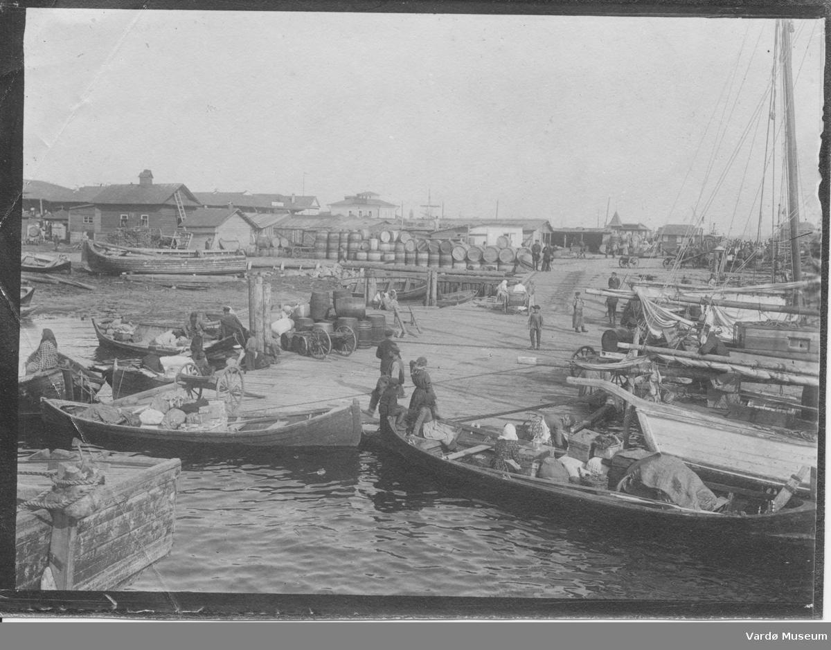Arkhangelsk havn Ca 1900 Ukjent fotograf