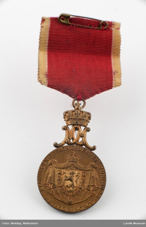 Kroningsmedalje 1906