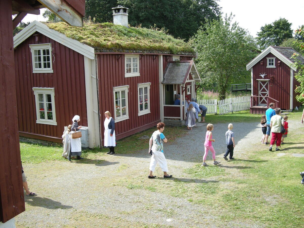 Vegvokterboligen. Foto: Norsk vegmuseum (Foto/Photo)