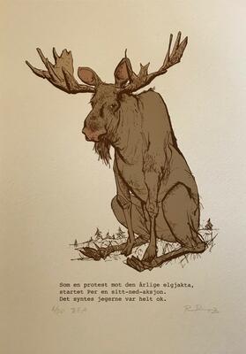 Per. 21x29,7cm DGA-trykk (Digital Graphic Art) på Hahnemühle William Turner 310 gsm. Opplag: 50 Signert og nummerert - kr 1200 (Foto/Photo)