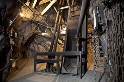 Hovedsjakta i Kongens gruve (Foto/Photo)