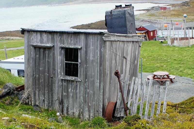 Smia fra Smørfjord var forbilde for smia på Finnmarksplassen på Norsk Folkemuseum. (Foto/Photo)