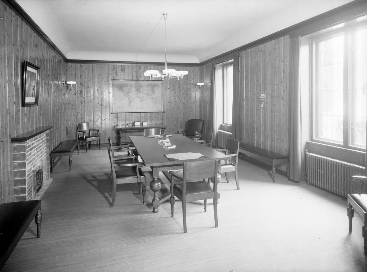 Bøndernes Bank, direksjonsrom