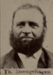 Tømmermannsformann Thomas H. Strengehagen (1835-1924) (Foto/Photo)