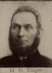 Sjakthauerformann Hans O. Teigen (1836-1922) (Foto/Photo)