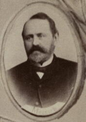 Myntmester Laurits W. Meinich (1836-1912) (Foto/Photo)