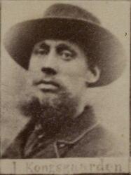 Hytteknekt Johannes T. Kongsgården (1860-1947) (Foto/Photo)