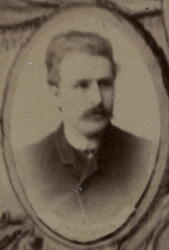 Byggmester Fredrik Rasmussen Gran (1840-1889) (Foto/Photo)