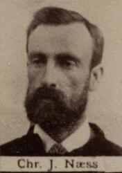 Stiger Christian J. Næss (1848-1923) (Foto/Photo)