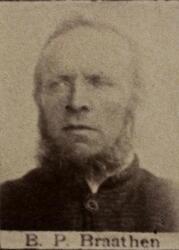 Maskinkjører Peder Bernhard P. Bjørnholdt (1839-1901) (Foto/Photo)