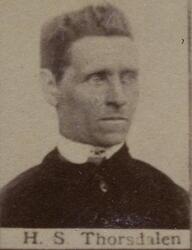 Borhauer Halvor S. Thorsdalen (1842-1905) (Foto/Photo)