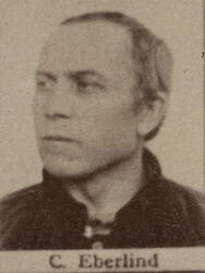 Pukkverksarbeider Christian H. Eberlind (1838-1912) (Foto/Photo)
