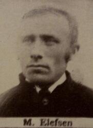 Borhauer Martin Ellefsen (1856-1942) (Foto/Photo)