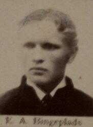Bergskoleelev Einar A. Bingeplass (1868-1943) (Foto/Photo)