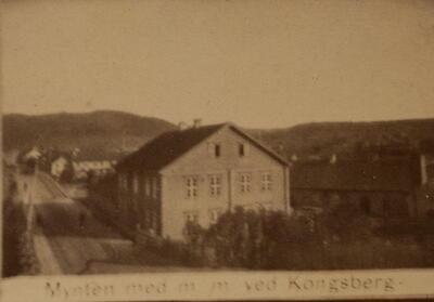 Historisk bilde, Myntmesterboligen (Foto/Photo)